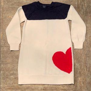 Girls Gap Sweater dress size 3T
